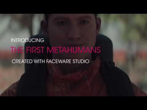 The First MetaHumans, Created with Faceware Studio PLE