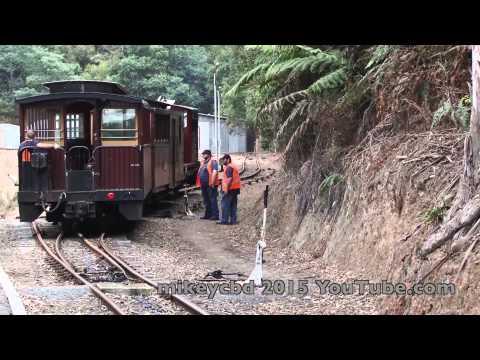 Walhalaa Railway trip Victoria Australia