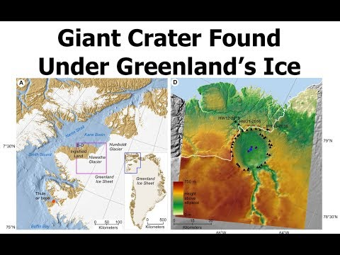 Geologists Find Massive Impact Crater in Greenland Under a Mile of Ice