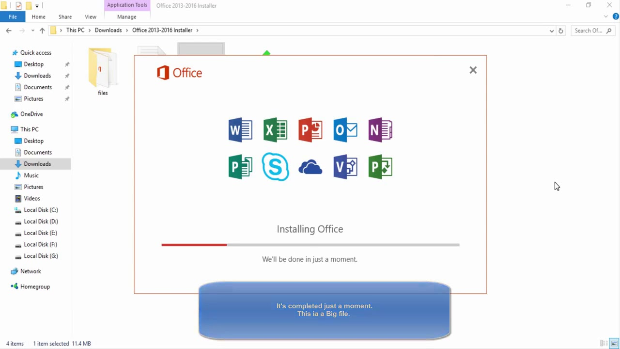 How To Download Microsoft Office 2017 Full Version For Free 1 Youtube