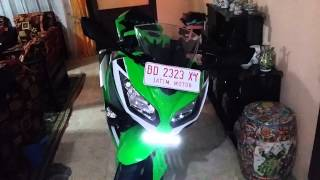 Kawasaki Ninja 250 FI lampu Non AHO