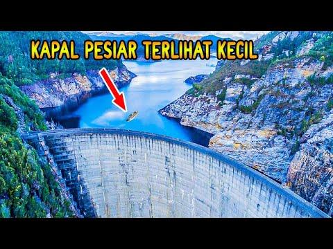 Bendungan Terbesar Dibuka Airnya Sampe Kayak Gini ?!!