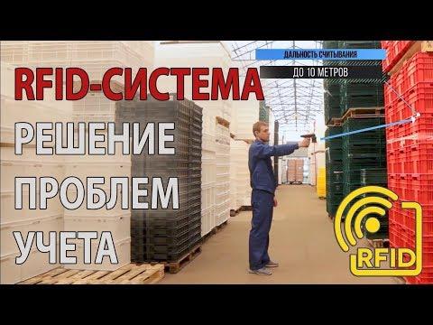 Инвентаризация с RFID. Автоматизация склада и производства. Учет товарно-материальных ценностей