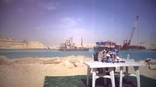 الانتهاء من حفر204مليون متر مكعب من الرمال وتكريك 74مليون متر بقناة السويس الجديدة