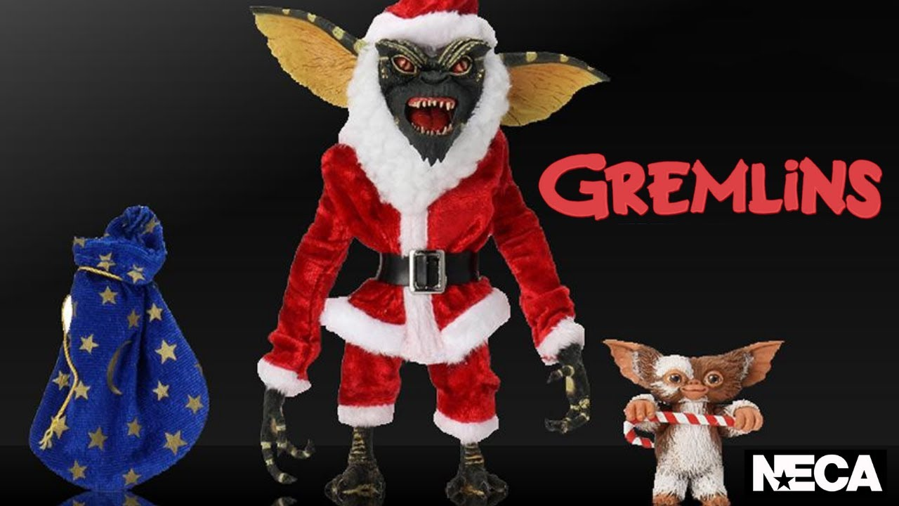 Santa Stripe /& Gizmo Gremlins Neca