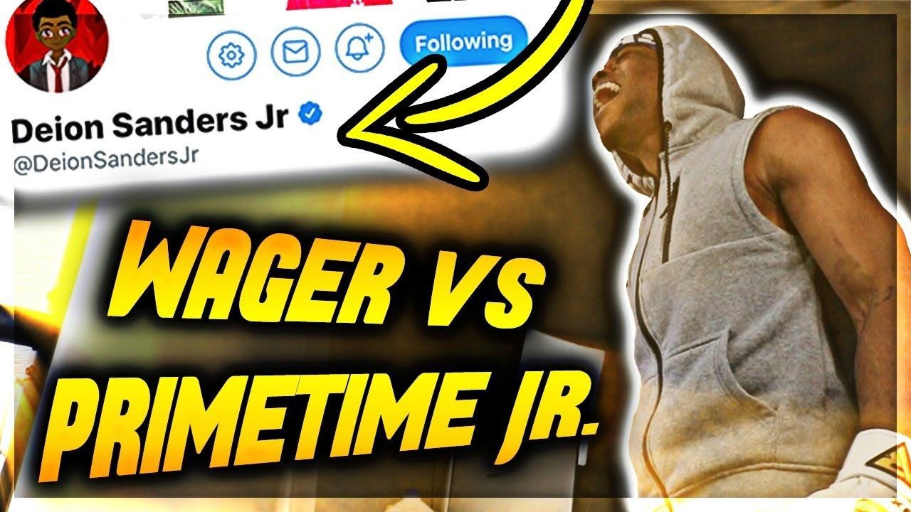 $50 WAGER VS DEION SANDERS JR. ⚡ Madden 19 Online Ranked Match