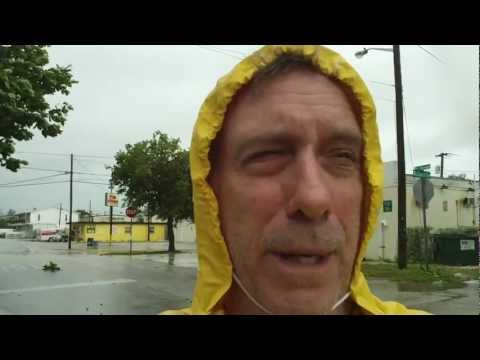 Hurricane Issac report #3 from Key West
