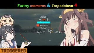 world of warships funny moments and torpedobeat 4