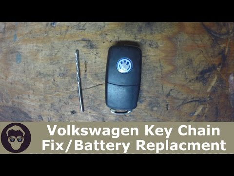 VW Volkswagen Key Chain Fix / Battery replacement