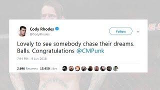 WWE Superstars REACT to UFC 225 CM Punk LOSS