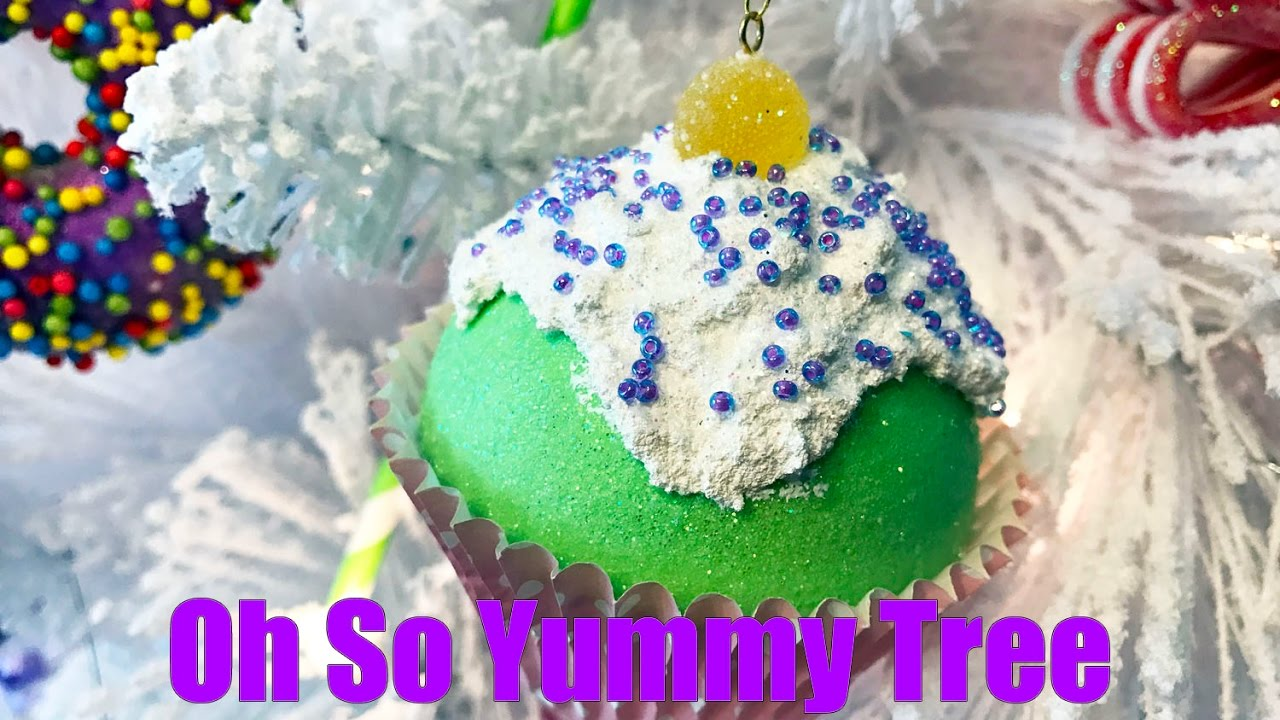 OH SO YUMMY TREE #5 - CUPCAKES TUTORIAL - YouTube