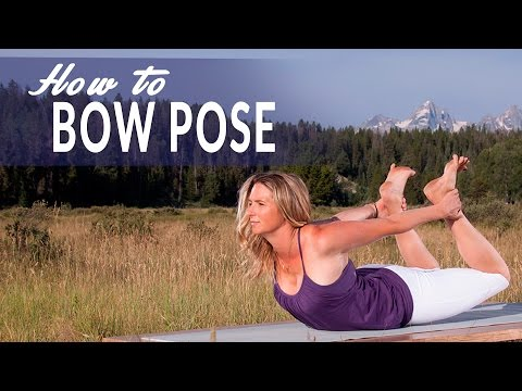 how you can do bow pose dhanurasana in yoga  fitness