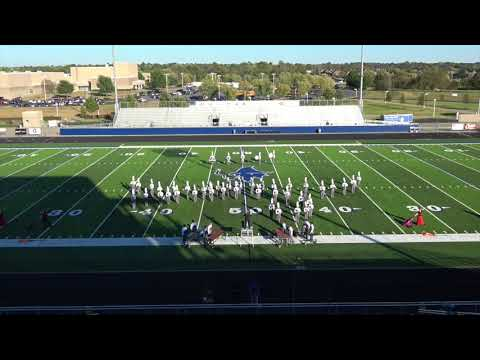 Berryville High School Band performs at Region VI Marching Assessment