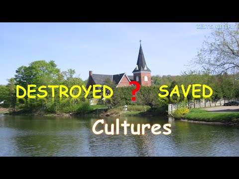 IELTS Writing - Tourism - Cultures - destroyed or saved
