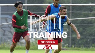 Inside Training: Passing, pressing, goals and counters