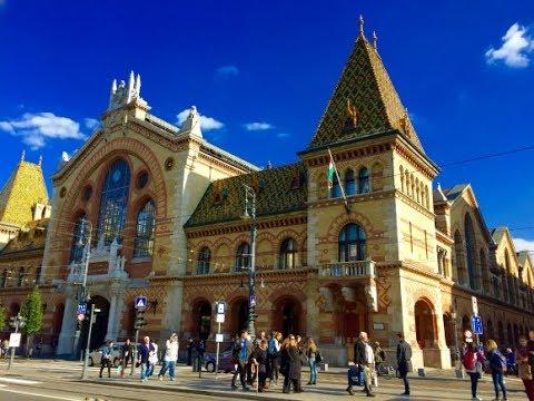 Great Market Hall ( Nagyvásárcsarnok ) - Budapest Hungary