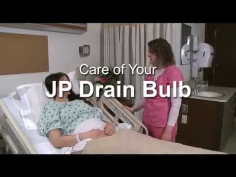 Care of Your Jackson-Pratt Drain