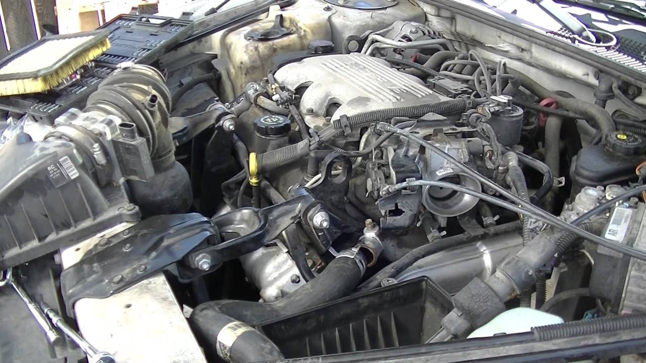 1998 chevy lumina how to replace the water pump thermostat and flush engine coolant youtube [ 1280 x 720 Pixel ]