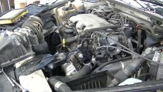 1998 Chevy Lumina: How to Replace The Water Pump, Thermostat and Flush Engine Coolant