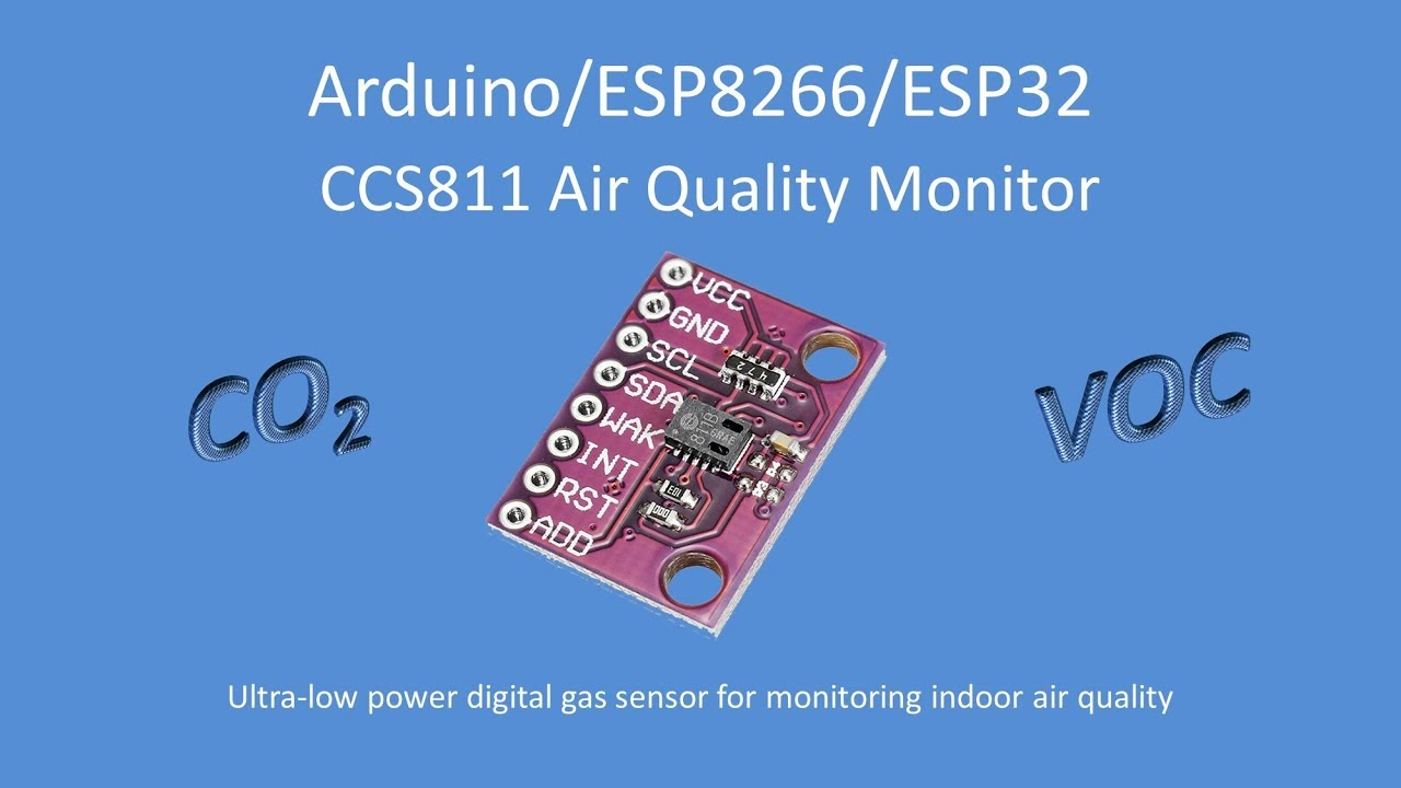 Repeat Tech Note 103 - CCS811 Air Quality Monitor for Ardunio