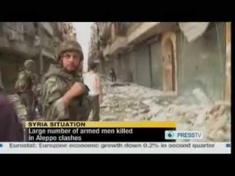 Syrian News - Turkey Army Tank on the Syrian border - 14/8/2012