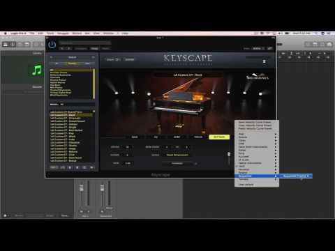 Keyscape Velocity Curve Presets