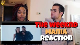 The Weeknd Mania Reaction