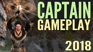 LOTRO Captain Gameplay 2018 - Lord of the Rings Online Mordor
