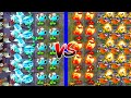 Plants vs Zombies 2 Mod - Tournament Fire vs Ice - Plantas Contra Zombies 2