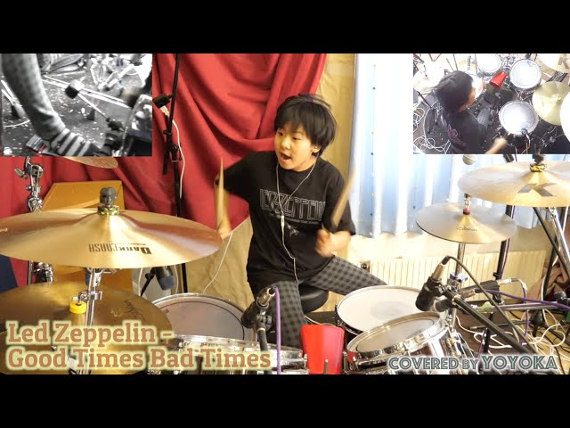 Good Times Bad Times - Led Zeppelin / Covered by Yoyoka, 11 year old