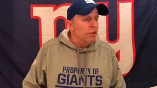 Giants Locker Room: It Was a Nice Run | Football | NY Giants | Vic DiBitetto