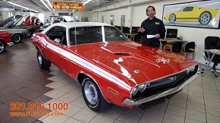 1971 Dodge Challenger R/T 440-Six Pack for sale with test drive, walk through video