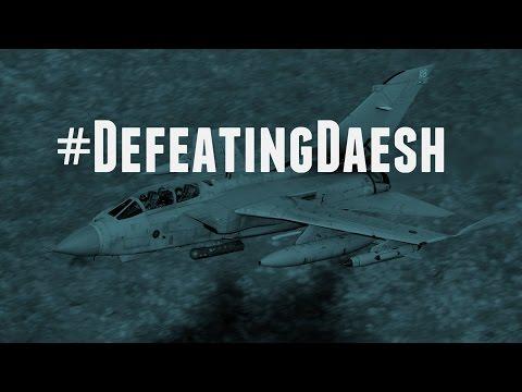 RAF Tornado strike on Daesh vehicle on Thursday 18 February 2016