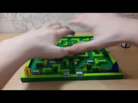 LEGO обзор на настольную игру  МИНОТАВР