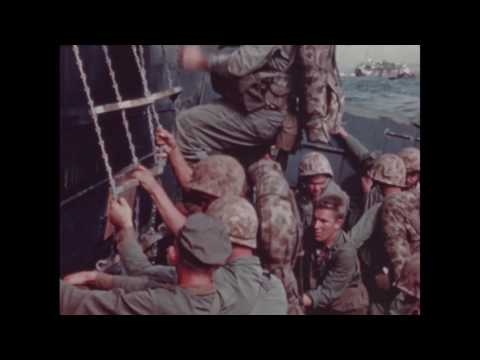5th Marine Division Landing on Iwo Jima, February 1945 (Part 1)