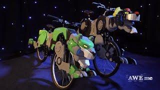 Go Voltron Bikes! - Super-Fan Builds