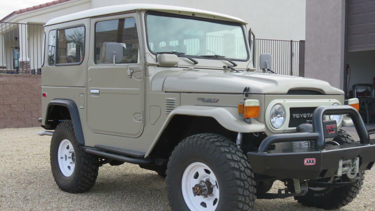 Sold - 1978 FJ40