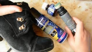 видео Как покрасить замшу в домашних условиях (обувь, куртку)
