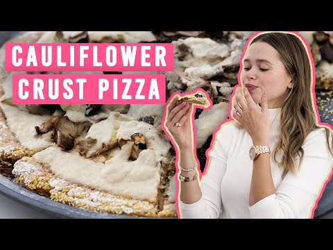 3 Tips To PERFECT VEGAN CAULIFLOWER PIZZA That Won't Fall Apart