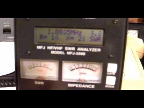 Inverted V Antenna 40-80-160