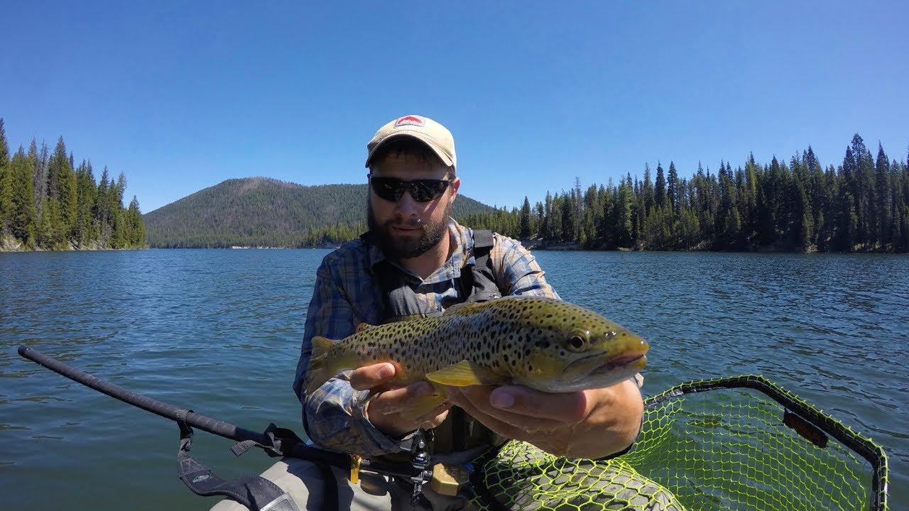 Lemolo lake trout fishing youtube for Youtube trout fishing