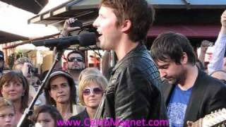 "James Blunt Sings ""You're Beautiful"" LIVE at the Grove on Extra TV"