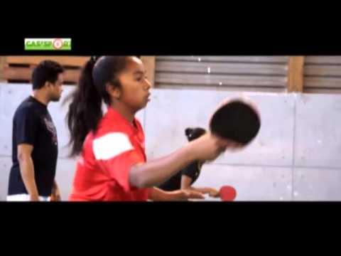 Preparation Jeux Des Iles Tennis De Table Youtube