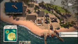 Tropico 5 Sandbox on Hardest Settings Possible Expert Play part 1