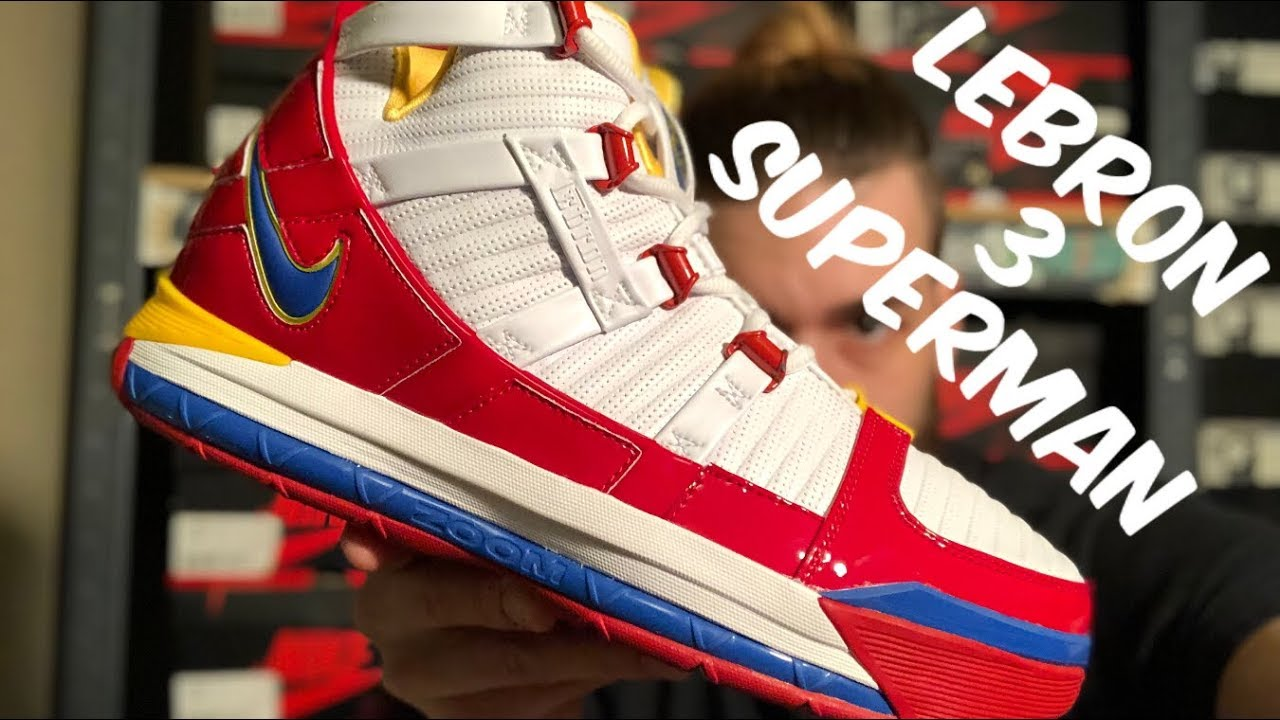 6e8780e2f23 GOT THEM EARLY!!!LEBRON 3 SUPERMAN!!!!REVIEW+ON FOOT!!!FIRST REVIEW ON  YOUTUBE IN HAND!!!