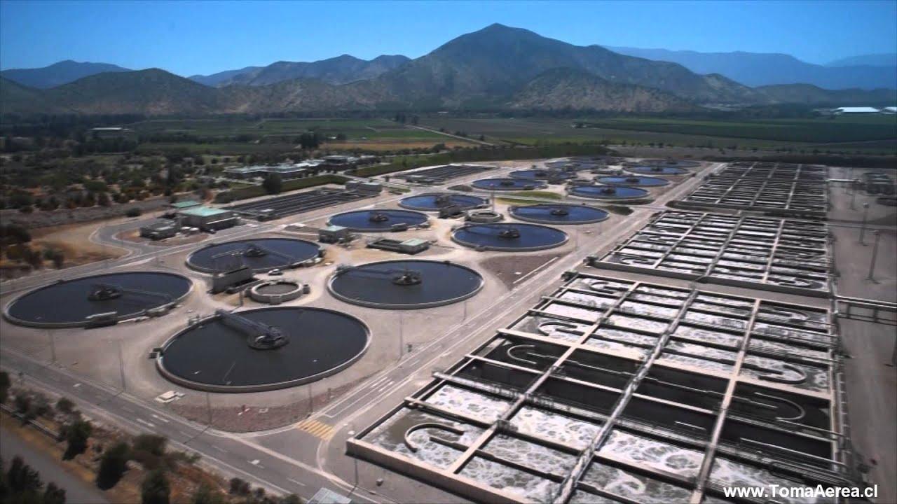 Tomas aereas planta de tratamiento de aguas la farfana - Tratamiento de agua ...