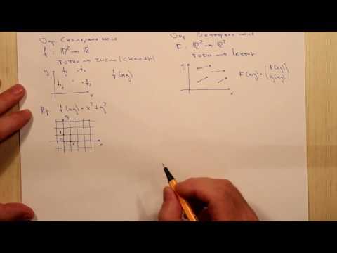 Скалярные и векторные поля. Тема