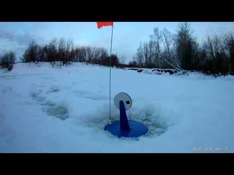 Рыбалка на реке Поинга 05.01.2018