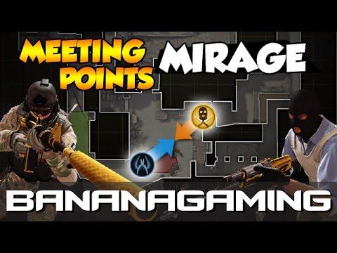 CS:GO - Noob to Pro - Meeting Points Mirage