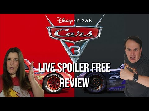 Cars 3 Movie Review LIVE Spoiler Free